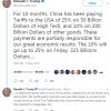 Угрозы Дональда Трампа поднять импортные пошлины на китайские товары пошатнули котировки акций