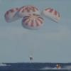 Авария при испытаниях парашютной системы посадки корабля Crew Dragon