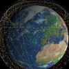 Илон Маск показал 60 интернет-спутников, готовых к запуску