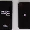 Samsung Galaxy A50 против Apple iPhone X: тест на скорость