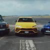 Lamborghini Urus против Mercedes-AMG G63 и Mercedes-AMG GT: дрэг-гонка