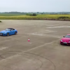 Toyota Supra выставили против BMW Z4