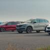 Skoda vRS, Audi Q3, Ford Focus и Kia GT: дрэг-гонка