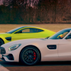 Aston Martin Vantage против Mercedes-AMG GT S: дрэг-гонка