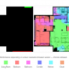 Нейросеть по контурам квартиры делит ее на зоны, рисует стены и расставляет мебель