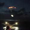 В SpaceX во второй раз успешно поймали в сеть над водой половинку обтекателя Falcon 9