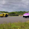 Lamborghini Aventador SV против Huracan Performante: дрэг-гонка