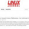 Linux Journal закрывается после почти 30 лет работы — на этот раз окончательно