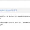 Большой старый сюрприз от HP