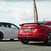 Audi RS3 против Audi TT RS: дрэг-гонка