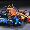 Безопасность автомобилей Lego проверили в краш-тесте