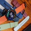 Xiaomi Watch Color на живых фото со сменными ремешками