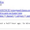 В ядро Linux 5.6 включили VPN WireGuard