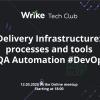 Wrike TechClub: Delivery infrastructure – processes and tools (DevOps+QAA). Доклады на английском