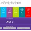 Представляем .NET 5 Preview 1