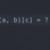 Альтернативная форма тернарного оператора Python