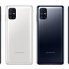 SamsungGalaxyM51 с самым большим в классе аккумулятором позирует на официальных изображениях