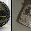 При необходимости марсоход Curiosity сможет отбросить часть колеса, чтобы двигаться дальше