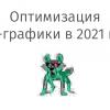 Оптимизация веб-графики в 2021 году