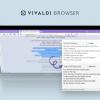 В альтернативном браузере Vivaldi появился перевод выделенного текста