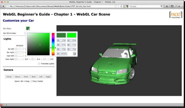 «WebGL Beginners Guide» Глава 1: Начиная работать с WebGL