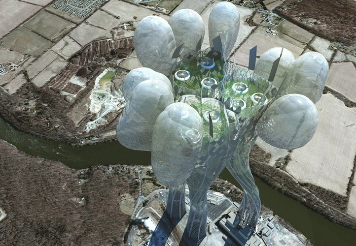 «Безбашенные» небоскребы будущего