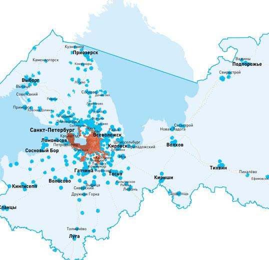 «Ростелеком» начал предоставлять услуги мобильной связи в Санкт Петербурге