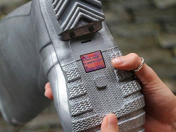 «Шпионская обувь» от О2 предназначена не только для ходьбы