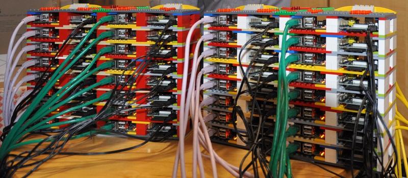 «Суперкомпьютер» из 64 Raspberry Pi и Lego