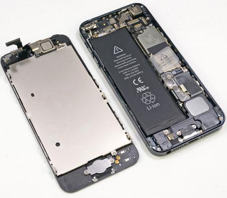 специалисты iFixit разобрали смартфон iPhone 5