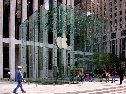 $1 млн убытков за оригинальную архитектуру Apple Store