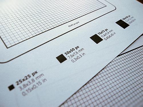 2 бесплатных бумажных шаблона для прототипирования мобильных приложений
