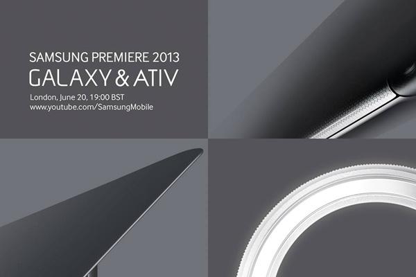 Samsung представит новые мобильные устройства 20 июня в Лондоне