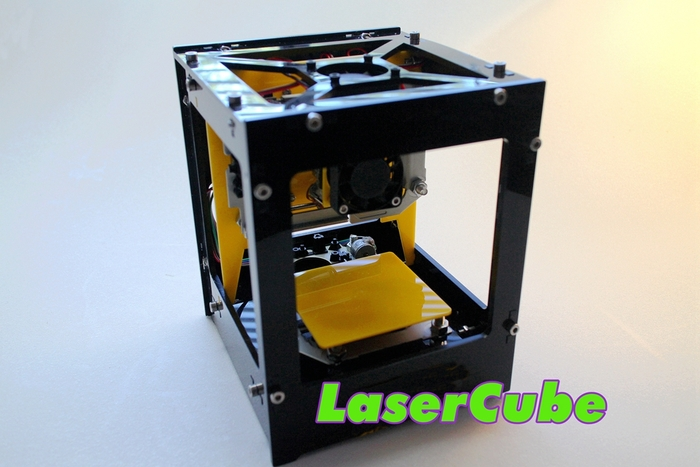 Laser Cube: гравировка лазером в домашних условиях