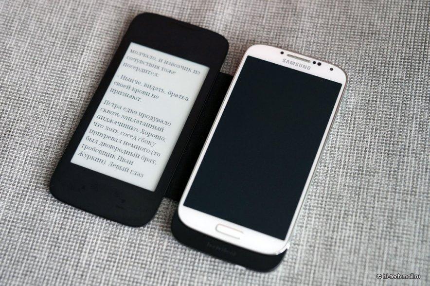Обзор обложки для смартфона Pocketbook CoverReader