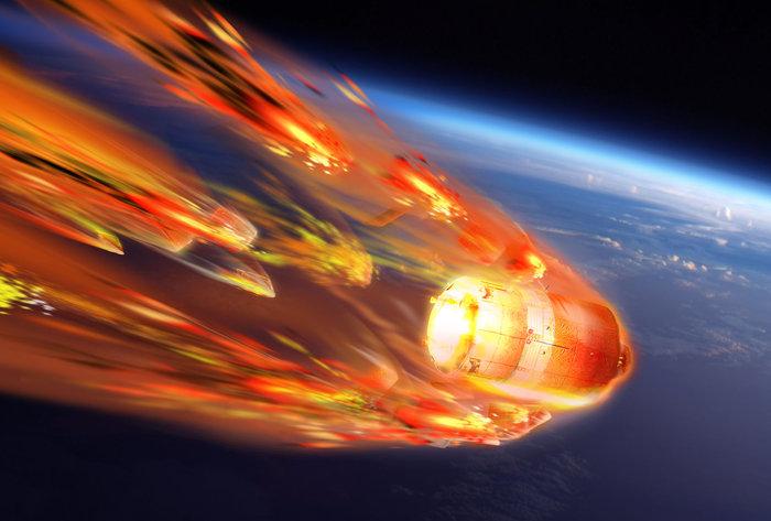 ESA понаблюдает за крушением космического грузовика в атмосфере Земли изнутри корабля