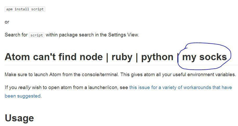 Настройка Atom от GitHub для работы с PHP, Python и некоторыми другими языками программирования