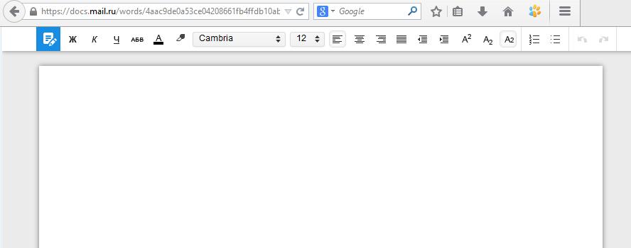 """""""Облако"""" Mail.ru научилось редактировать документы быстрее Яндекс.Диска"""