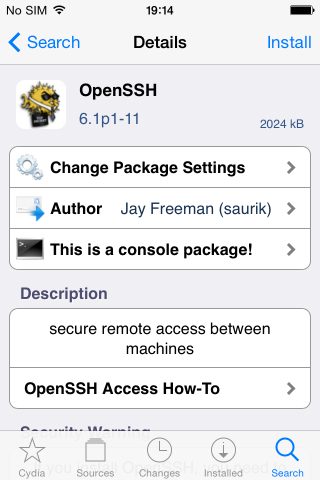 Пользователям iPhone, iPad на iOS 7 с джейлбрейком настоятельно рекомендует