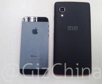 Elephone P1000 в сравнении с iPhone