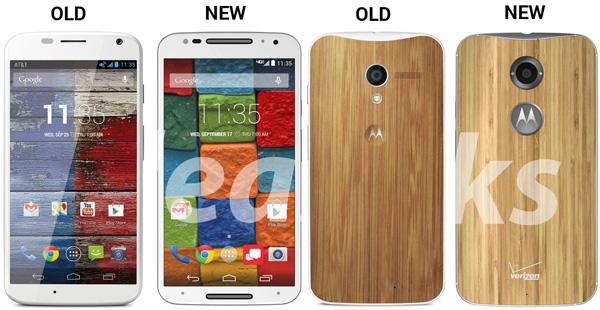 Motorola Moto X в сравнении с Moto X+1