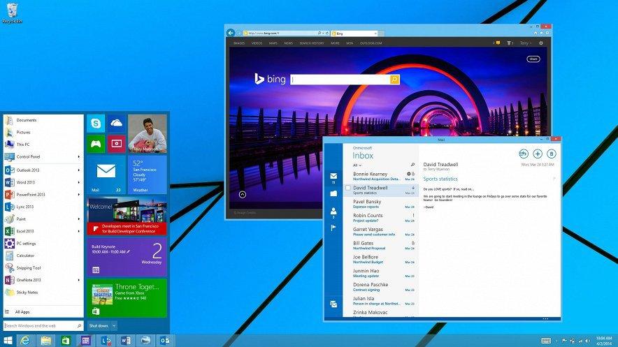 Windows 9 уже в сентябре