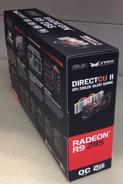 Asus Radeon R9 285 Strix OC edition