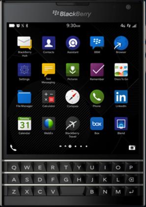 BlackBerry Passport выйдет в следующем месяце