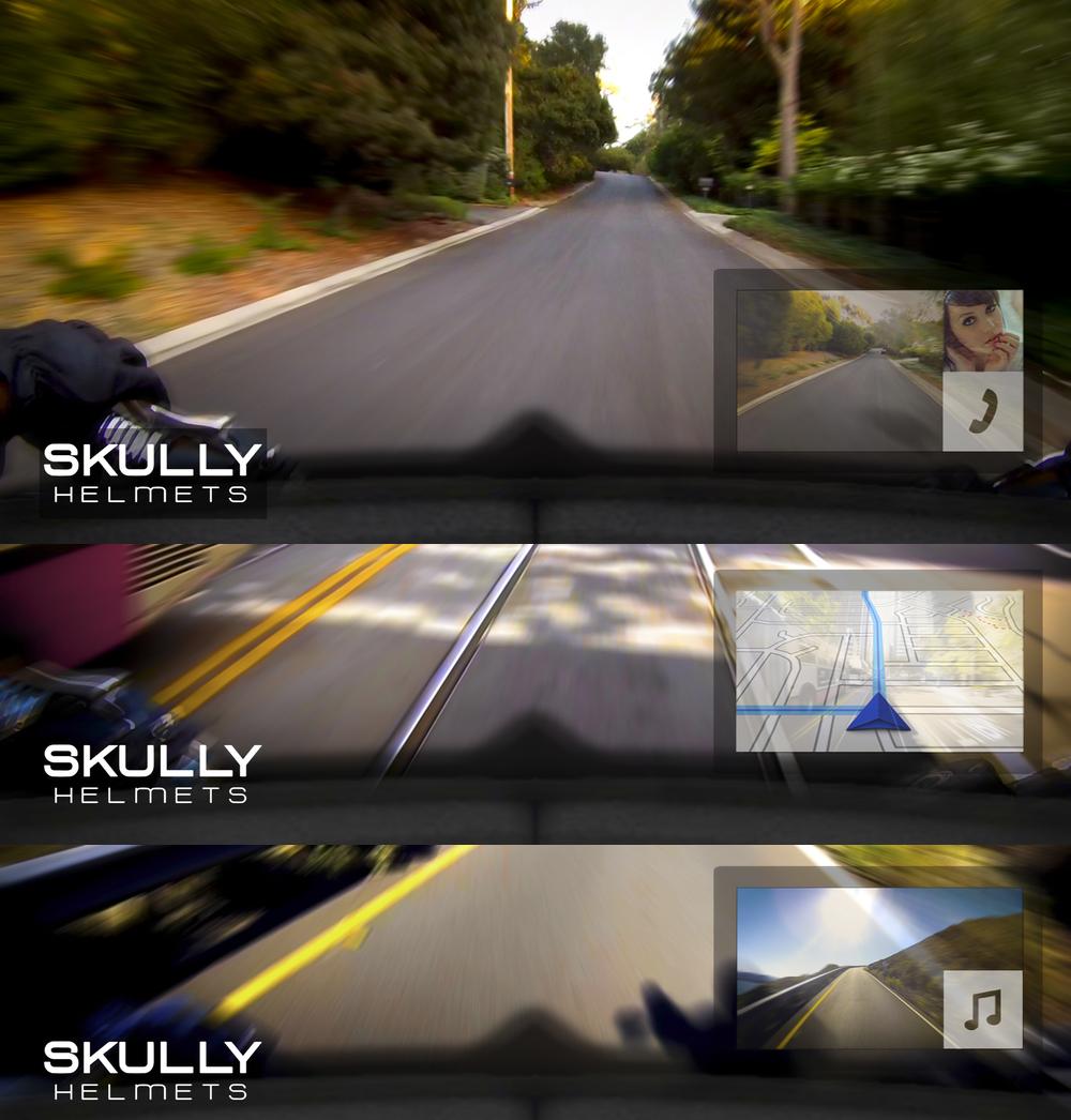«Умный» мотоциклетный шлем Skully AR 1: самый успешный проект на Indiegogo за все время