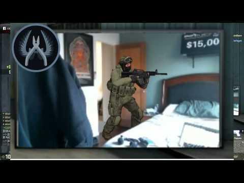 Спецназ задержал игрока в Counter Strike во время трансляции игры