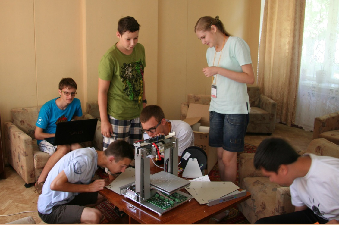 Свой образовательный лагерь с покером, 3d принтером, роботами и посадкой на Марс