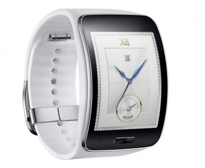 Samsung представила новые умные часы Gear S и гарнитуру Gear Circle