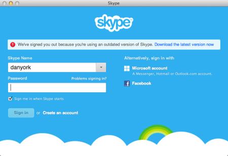 Почему Skype заставляет нас всех обновлять ПО?