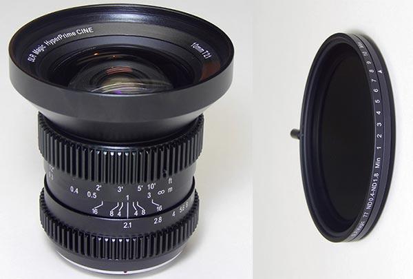 Продажи SLR Magic 10mm T2.1 HyperPrime Cine и SLR Magic 77mm ND 0.4-1.8 ND начнутся в октябре